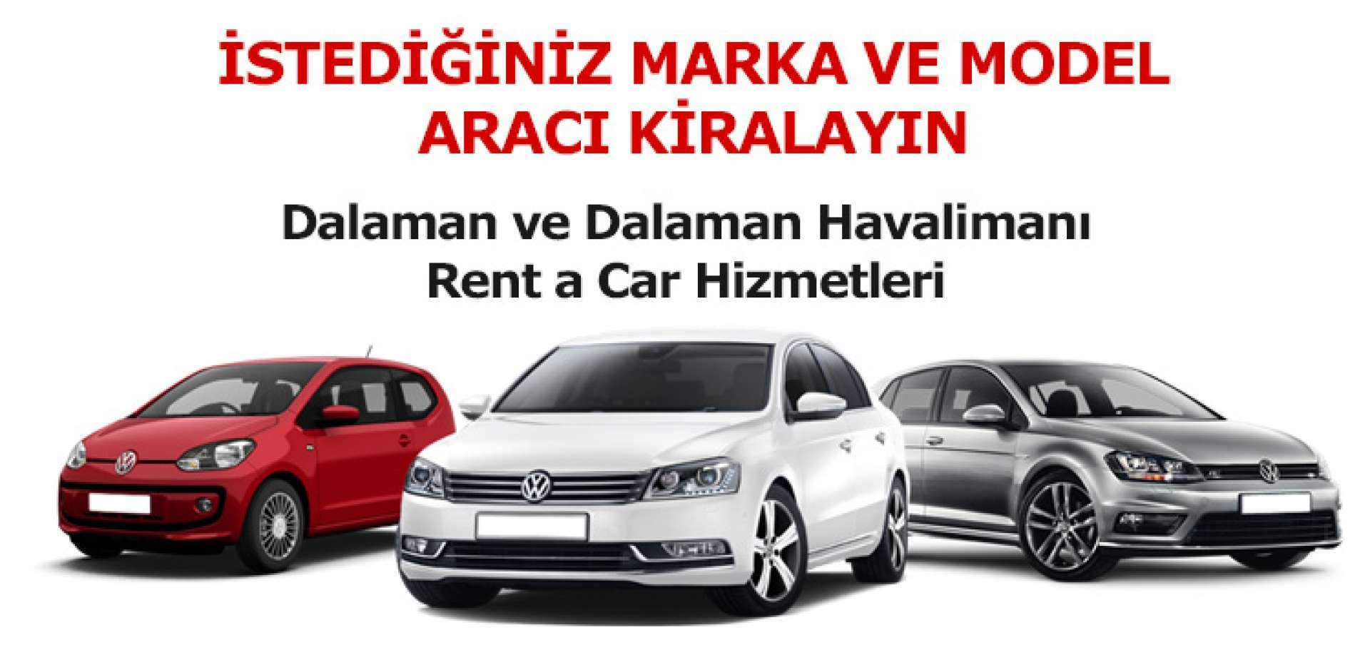 Dalaman Rent a Car Firmaları